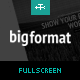 BigFormat - Responsive Fullscreen Wordpress Theme Nulled