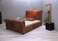 Leather vintage bed - PhotoDune Item for Sale