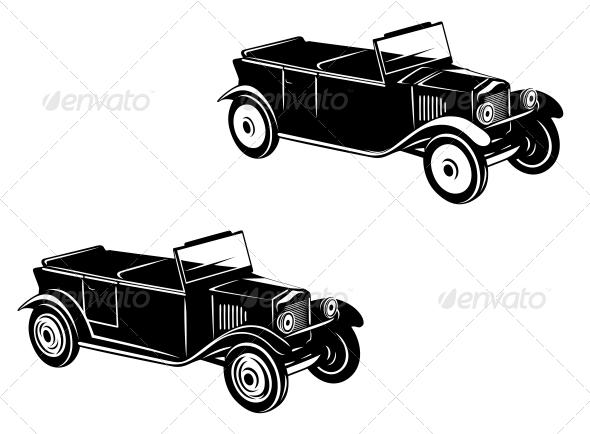 1920's Retro Car - Retro Technology