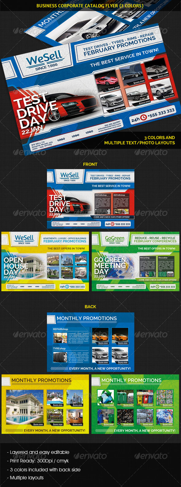 Business Corporate Catalog Flyer - Commerce Flyers