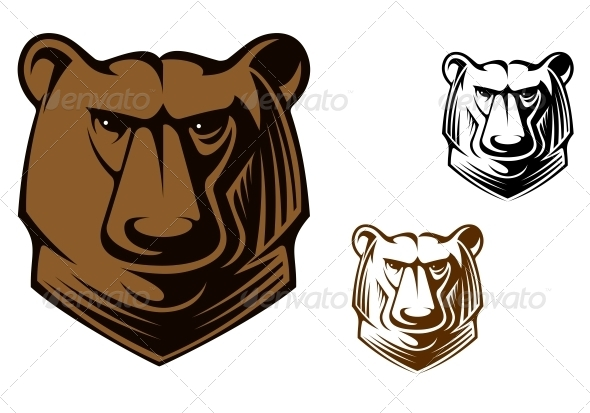Kodiak bear mascot - Animals Characters