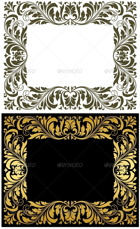 Retro frames - Borders Decorative