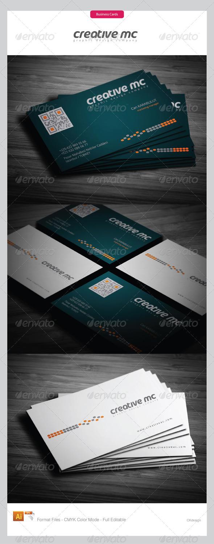 corporate business cards 296 - Corporate Business Cards