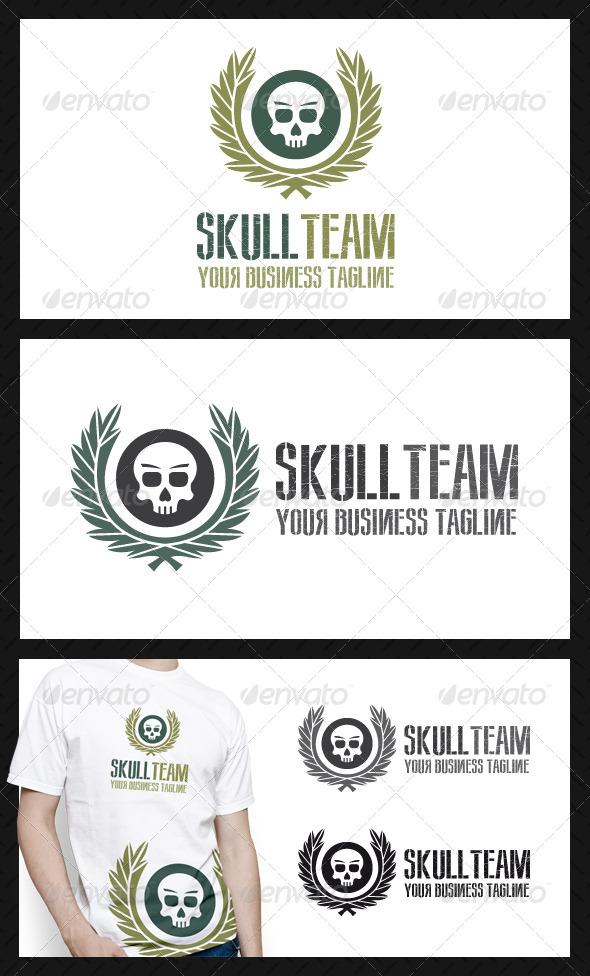 Skull Team Logo Template - Symbols Logo Templates