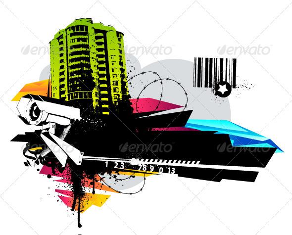 Urban Design - Vectors