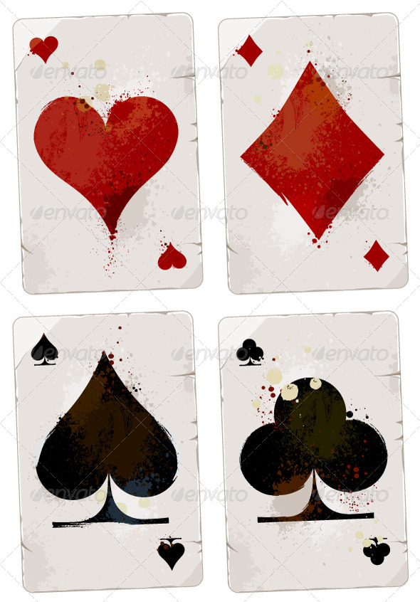 Poker Cards Set - Vectors