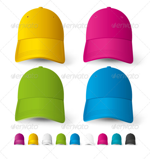 Baseball Cap - Decorative Vectors