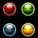 Set of Glossy Buttons - GraphicRiver Item for Sale