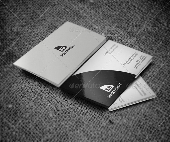 Attractive Business Card - Business Cards Print Templates