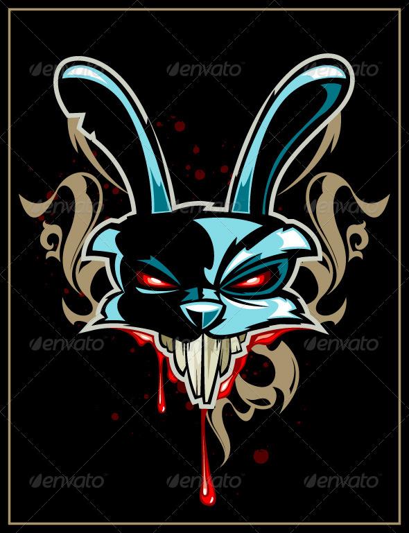 Rabbit Head - Vectors