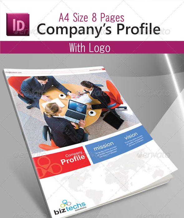 Company profile by asif001 graphicriver company profile print templates accmission