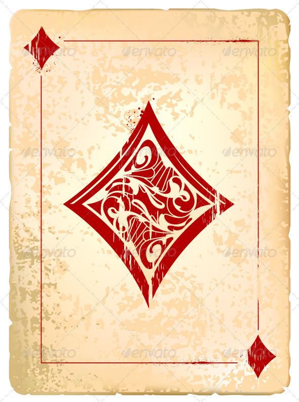 Ace of Diamonds - Vectors