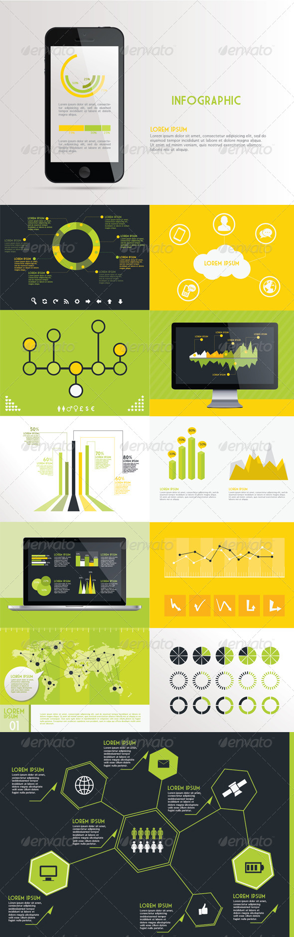 Infographic Kit - Miscellaneous Vectors