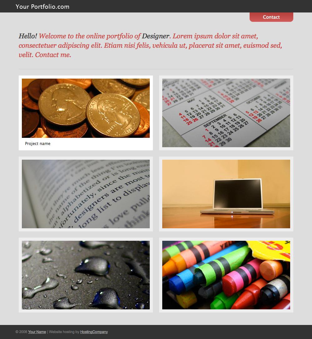 Free Download Simple modern portfolio theme Nulled Latest Version