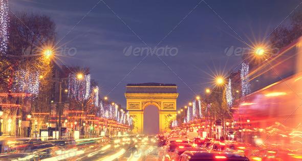 Champs-Elysées - Stock Photo - Images