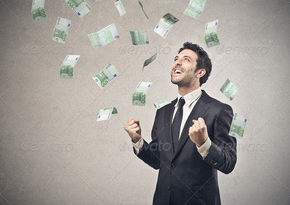 Rich Businessman - Stock Photo - Images