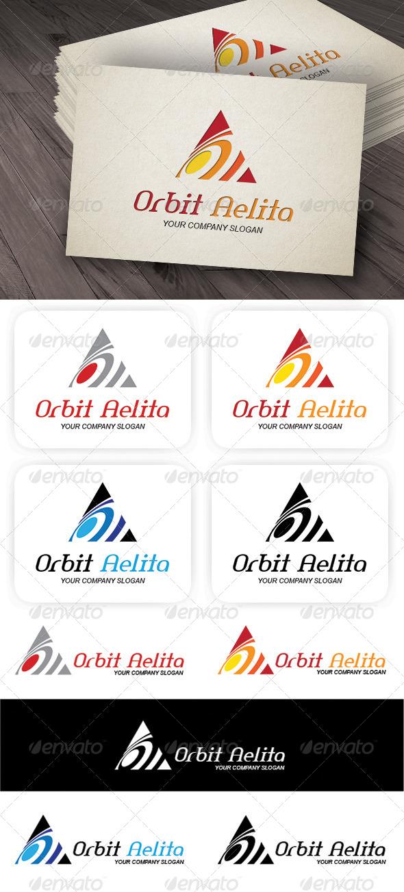 Orbit A Logo - Letters Logo Templates
