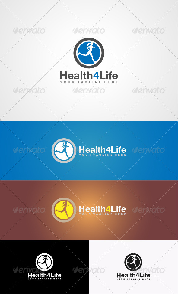 Fitness Logo - Humans Logo Templates