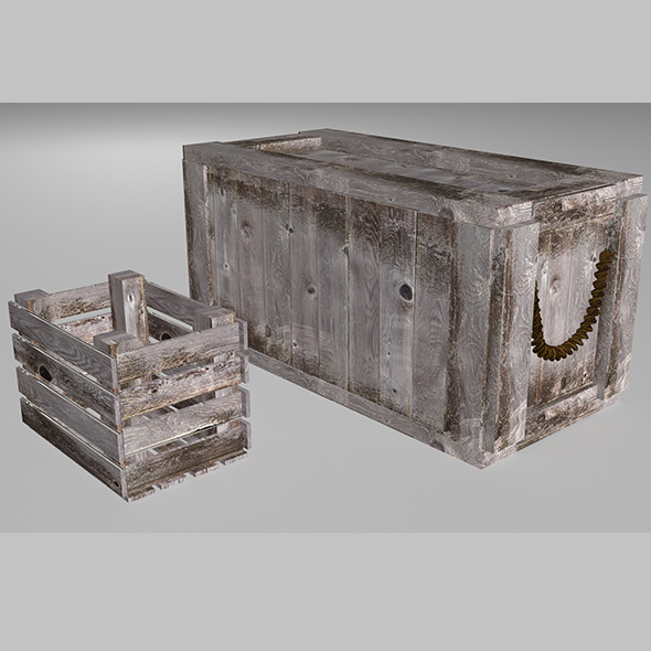 Crate - 3DOcean Item for Sale