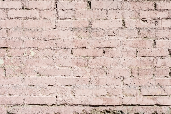 Background high detailed fragment stone pink wall - Concrete Textures