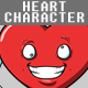 Heart Character Creation Kit - GraphicRiver Item for Sale