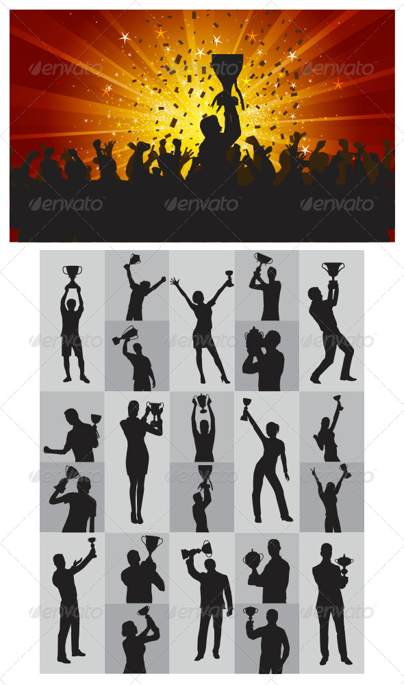 The Winner Silhouettes - People Characters
