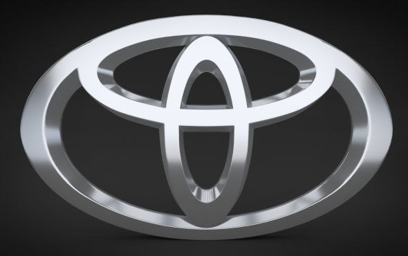Toyota Logo - 3DOcean Item for Sale