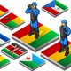 Isometric International Peacekeeper Observer - GraphicRiver Item for Sale