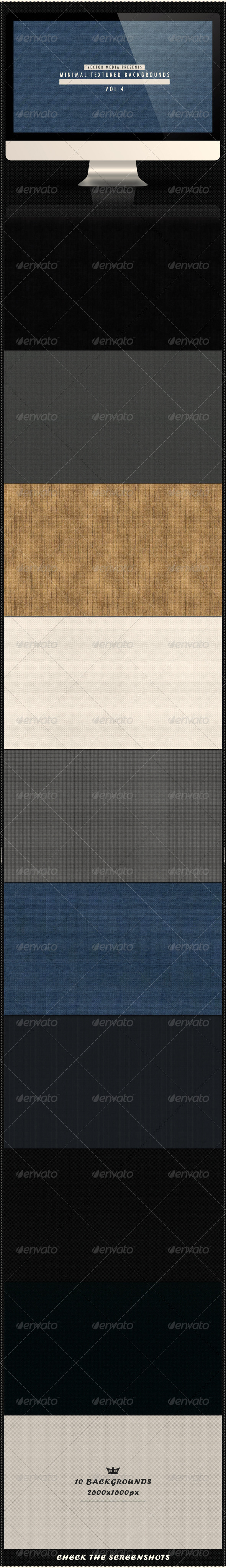 Minimal Textured Backgrounds - Vol 4 - Patterns Backgrounds