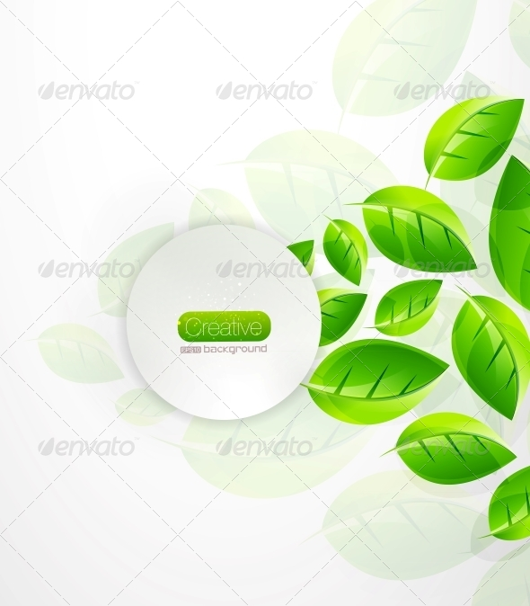 Green Nature Background - Miscellaneous Vectors