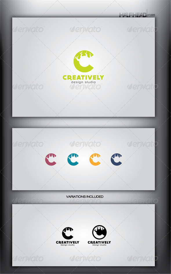 CREATIVELY Logo Template - Letters Logo Templates