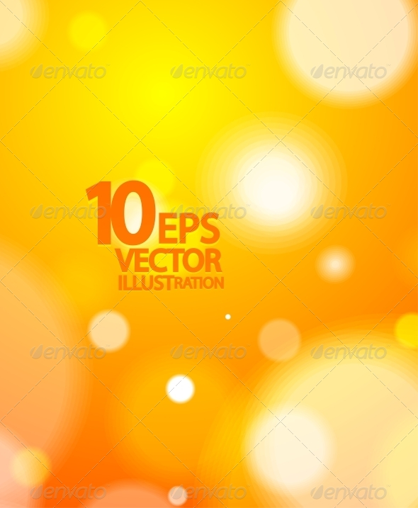 Abstract Vector Blurred Light Background - Miscellaneous Vectors