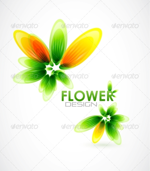 Abstract Flower Background - Miscellaneous Vectors