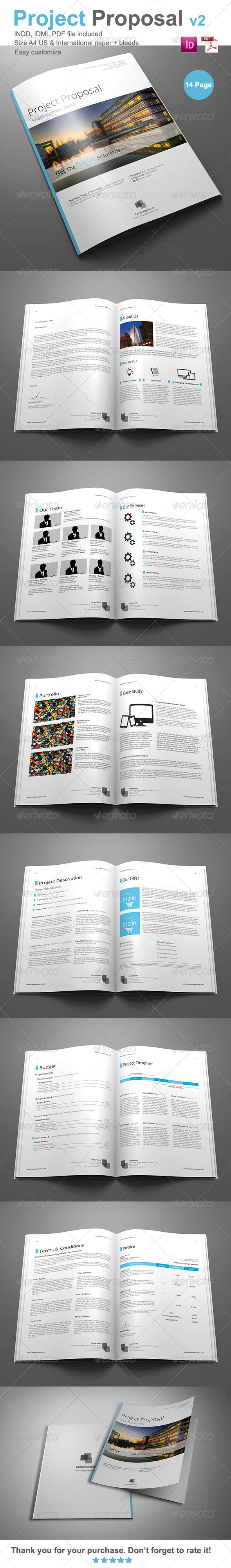 Gstudio Project Proposal Template V2 - Proposals & Invoices Stationery