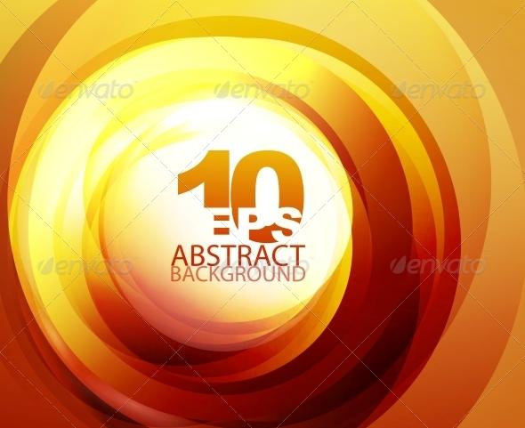 Orange Abstract Background - Miscellaneous Vectors