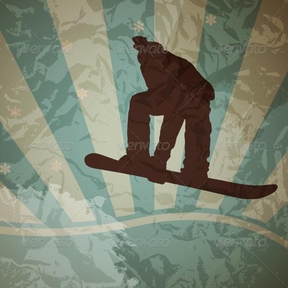 Snowboarding Vector - Miscellaneous Vectors