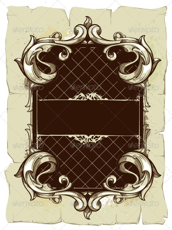 Vintage Frame - Vectors