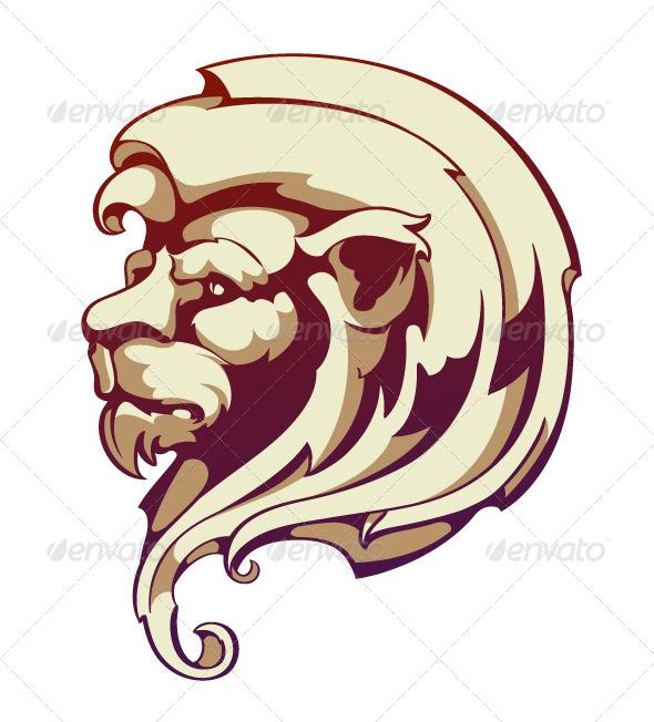 Lion Head - Vectors