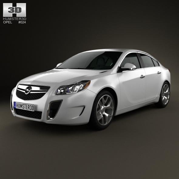 Opel Insignia OPC sedan 2012