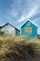 Blue & White Beach Huts - PhotoDune Item for Sale