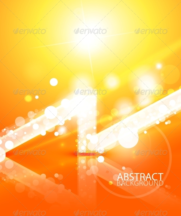 Vector Abstract Lights Background - Miscellaneous Vectors