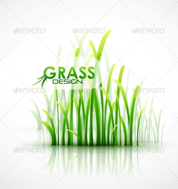 Vector Grass Background - Miscellaneous Vectors