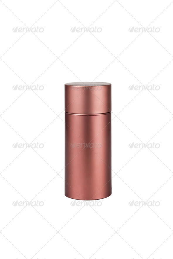 Bottle. On a white background - Stock Photo - Images