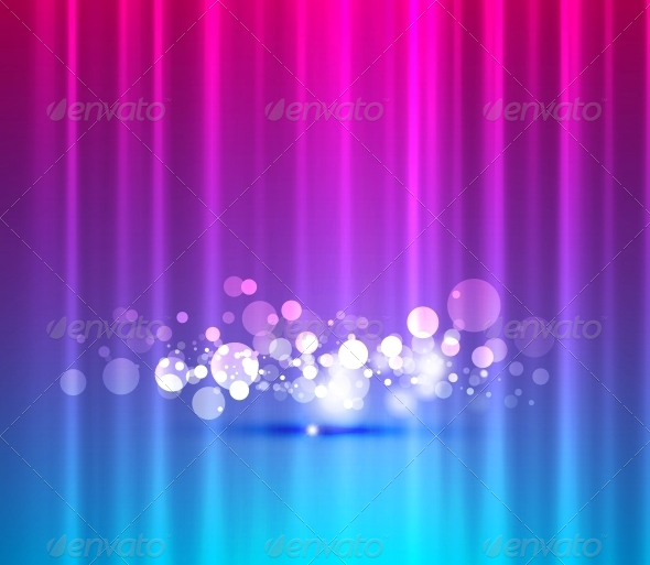 Abstract Lights Background - Miscellaneous Vectors