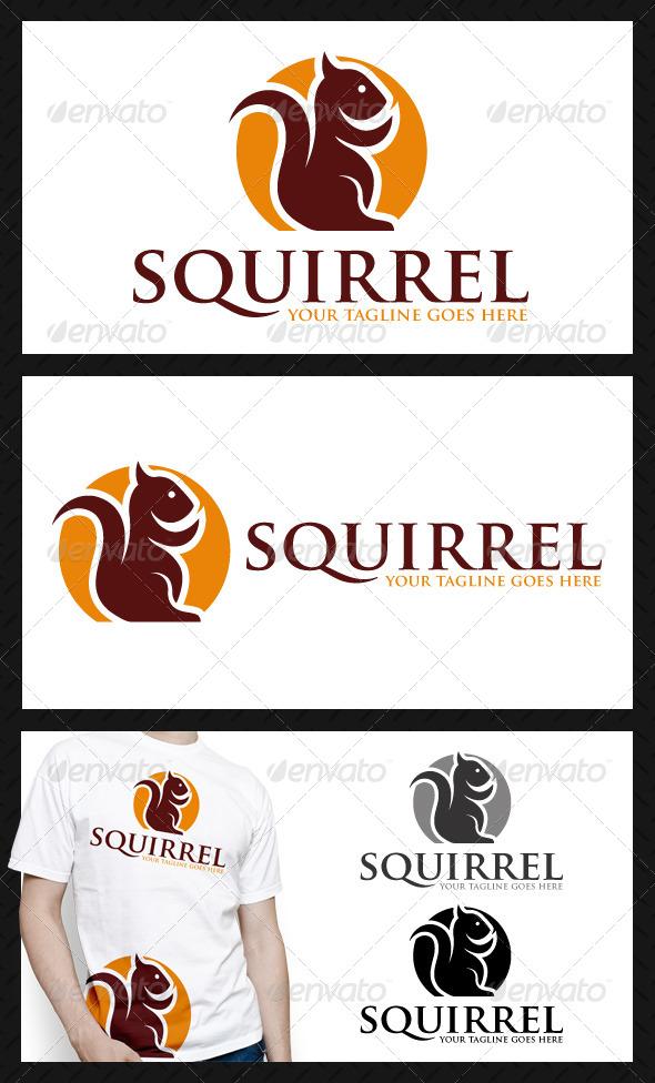 Squirrel Logo Template - Animals Logo Templates