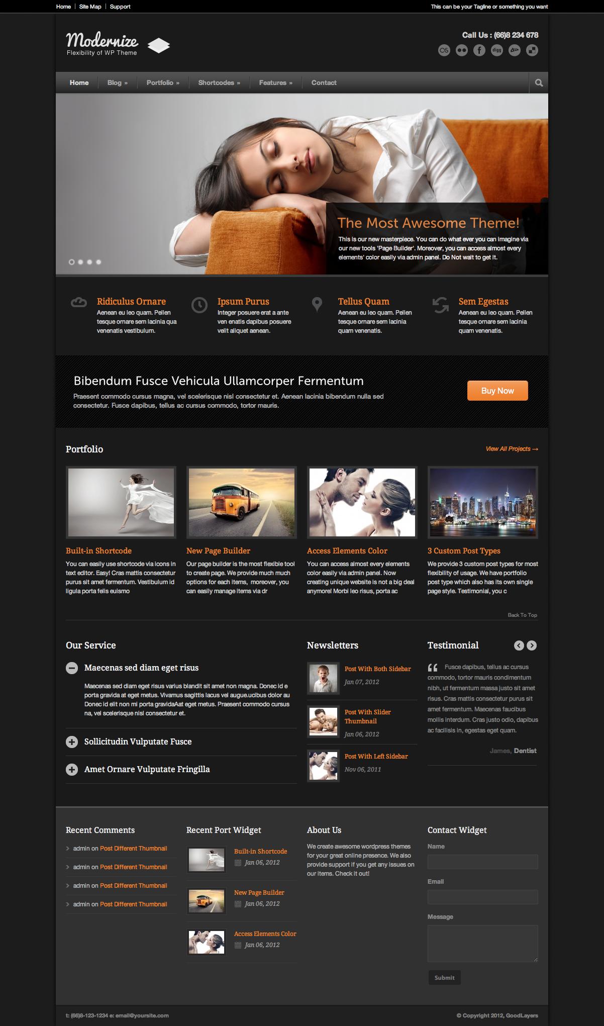 Modernize - Flexibility of WordPress by GoodLayers | ThemeForest