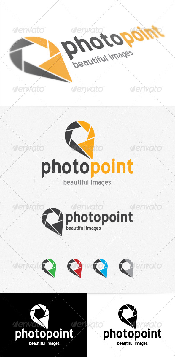 Photo Point Logo - Symbols Logo Templates