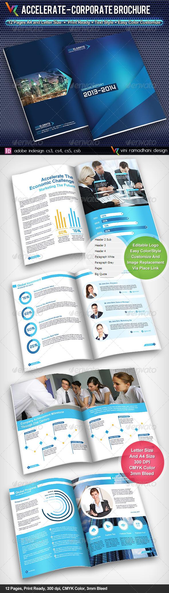 Accelerate Corporate Brochure - Corporate Brochures
