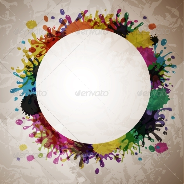 Vector Splash Abstract Background - Miscellaneous Vectors