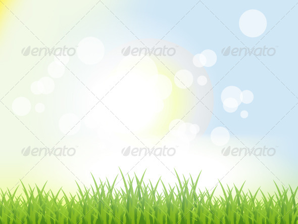 Abstract Summer Background - Backgrounds Decorative